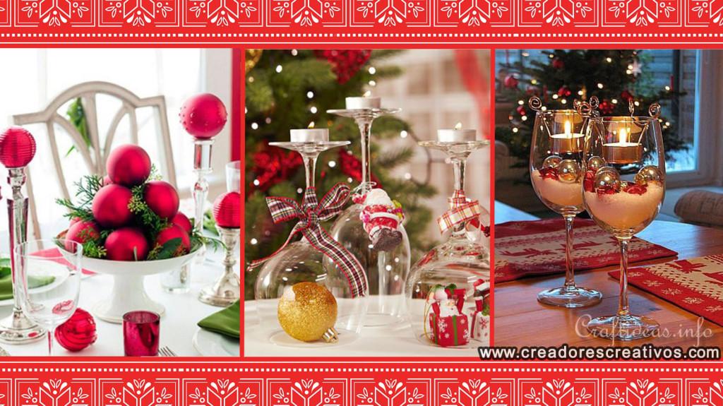 Decoraciones Navidenas para el Hogar (mesas)
