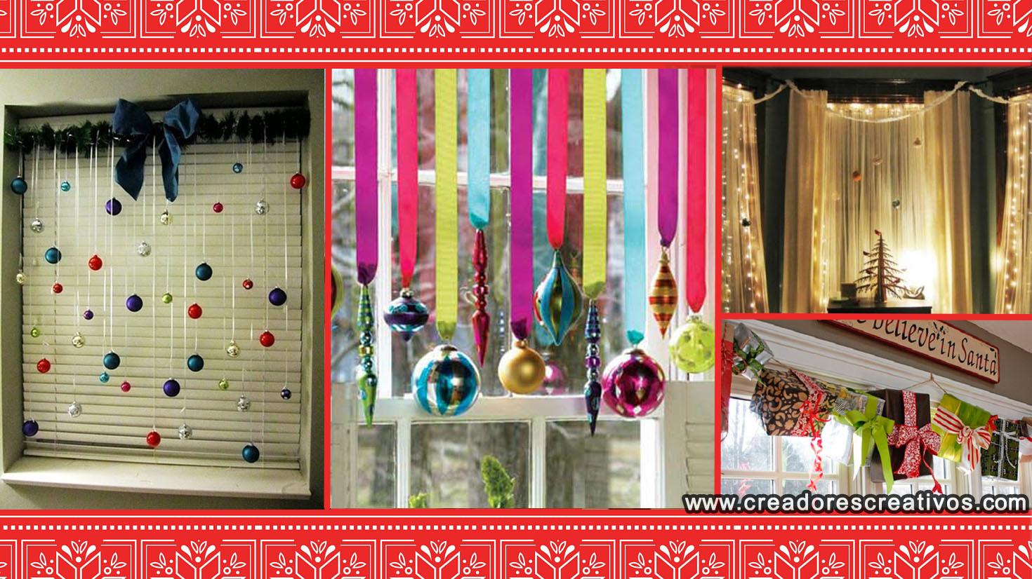 Decoraciones navide as para el hogar creadores creativos - Decoraciones para hogar ...