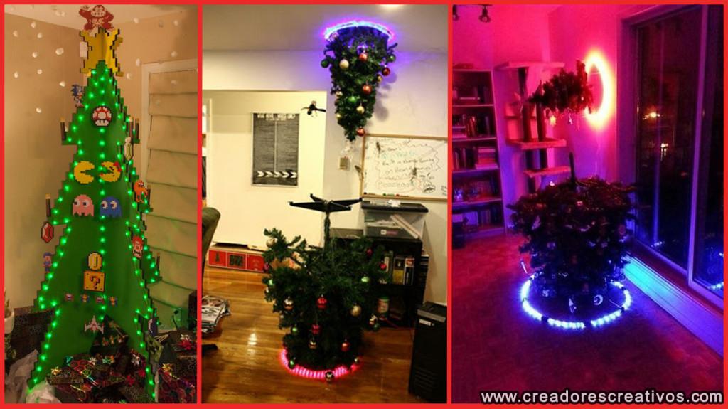 Arboles de Navidad Creativos (para gamers)