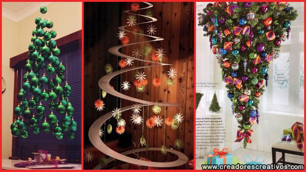 Arboles de Navidad Creativos (modernos)