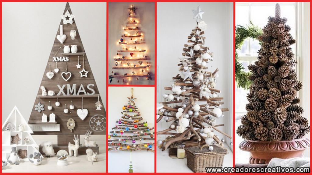 Arboles de Navidad Creativos (rusticos)