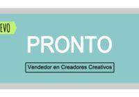 Vendedores en Creadores Creativos Pronto