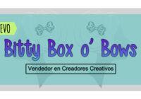Tienda Nueva Bitty Box o' Bows