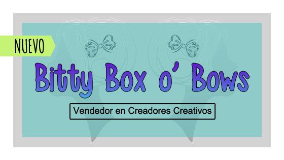 Vendedor Nuevo (Bitty Box o Bows)