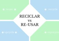 Reciclar vs Re-usar