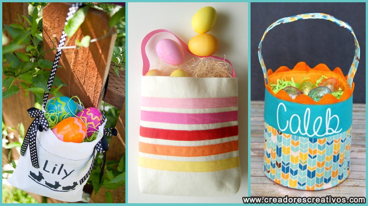 Canastas del Día de Pascua (bolsos)