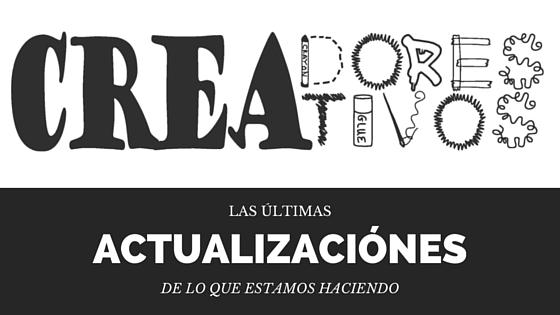 Actualizaciones de Creadores Creativos (2016/03/14)