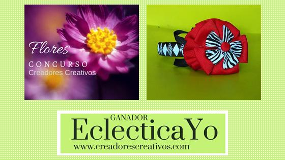 """Concurso """"Flores"""" Creadores Creativos Ganador"""