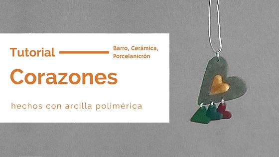 Corazones Familiar de Plasticina Polimerica (Tutorial)